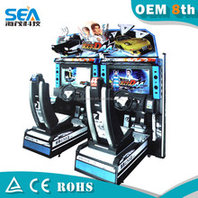 2015 haimao D04 outdoor and indoor coin insert arcade machine wholesale shopping center park adults racing go kart for sale