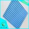 Retardant roof material UV protected polycarbonate hollow sheet polycarbonate skylight roof