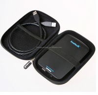 """2.5"""" Hard Drive Disk HDD Protective Zipper Carrying Shell Case Cover Bag for 2.5 Inch Portable External Hard Drive"""