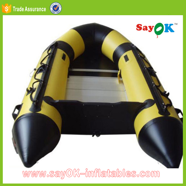 Plywood floor inflatable boat 900xs