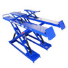 Servicing machine portable hydraulic double scissor car lift with CE
