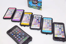 For Apple iphone 6 drift case, for iphone6 waterproof case