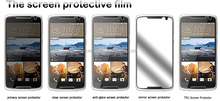 sensitive touch scratch-resistant high clear PET screen protector for Acer HTC desire 828