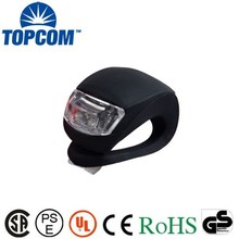 Cycling Bike Bicycle Silicone safety rear light red white LEDcycle lights led