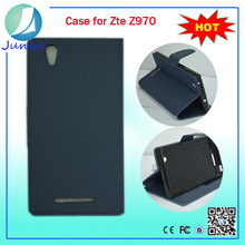 New arrival wallet flip leather mobile cases and covers for zte z970