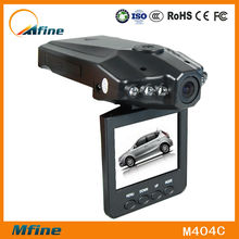 "H198 HD Car DVR 2.5"" TFT LCD With 270 Degree Whirling Screen"