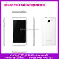 Unlocked 5.5 inch QHD IPS screen cell phone , quad core Tmobile A968 android phone A968 with 3D film phones