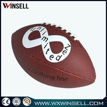 New exercise colorful adult american football/rugby ball