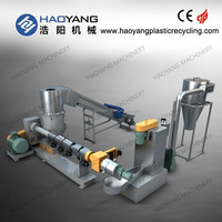 good performance pet plastic recycling/plastic bottle recycling machine for sale/small scale plastic recycling plant