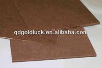 1220*2440mm high quality hardboard insulation