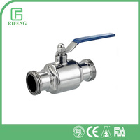 Hot Selling Sanitary Stainless Steel SS Ball Vale DN15 Price List