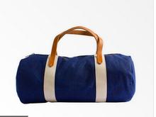 fancy canvas gym bag fashion sports bag wholesale