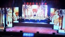p12.5 full color led curtain screen xxx image,P12.5 led curtain wall light,led light stage curtain