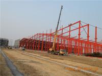 china prefab steel structure frame warehouse workshop plant design detailing