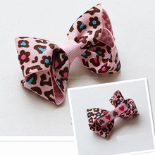 2015 Crazy Selling middle size mix color cheap hair bows