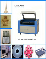 jinan liangxun co2 100W laser cutting and engraving rubber pussy machine