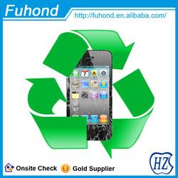 Repair Screen service Recycle Broken LCD screen for iphone 4 screen