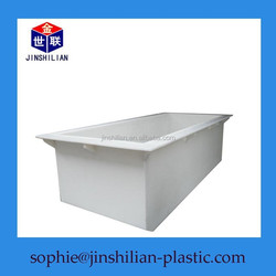 pvc plastic water tank/plastic trough/acid tank