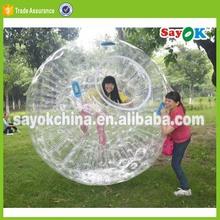 pvc top quality soccer kids inflatable mini zorb ball rental