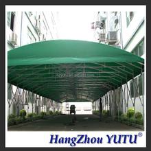 TLP0231 Waterproof PVC Fabric Aluminium Carport Warehouse
