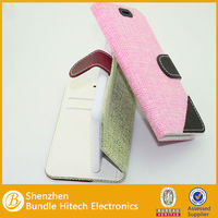 New arrival synthetic mobile phone leather case,leather flip case for iphone 6