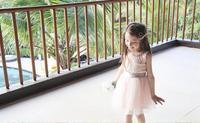 Multifunctional dashiki kids girls dress with great price 16003