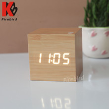 Promotional small LED desk clock creative gift names for a gift shop