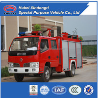 China top one Dongfeng 2000L small water tank fire truck