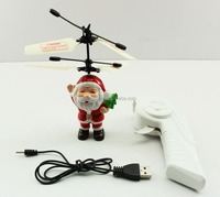 2015 wholesale mini rc santa flying insect toy for children minions induction toys