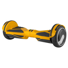 Hands free two wheels self balance electric scooter with led light