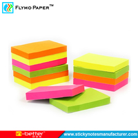Office School Promotion Cube Sticky Note Self Adhesive Plastic Writing Pads