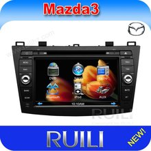 "Mazda 3 8"" double din car auto radio media player with gps navigation system"