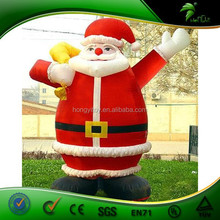 Exquisite Air-blown Inflatable Santa Claus/Father Christmas With Smile
