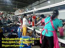ropa usada al por mayor en china utiliza la compañía de ropa