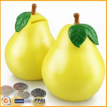 Pear Fruit Plastic Money Case