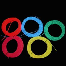 2.3mm Electroluminescent EL Wire for Christmas Lighting Decoration