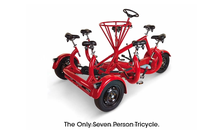 Conference trike for 7 person for sale for city outing