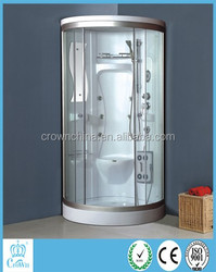 Corner Sliding Shower Room outdoor glass shower room