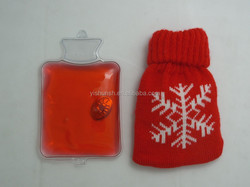 reusable gel hand warmer with knitted cover for promotional purpose