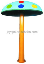 swimming pool garden amusement accessory /2m high swimming pool mushroom waterfall