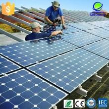 High efficiency 200 watt micro USB Mono crystal silicon solar module