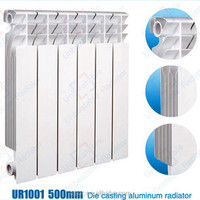 European Painting Hot Water Aluminum Room Radiators