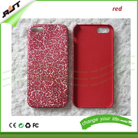 Crackle Effect light and soft pu leather case for iPhone 4, phone cover for iPhone 4s