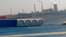 direct-drive FRP exhausted fan , roof or window industrial exhaust fans