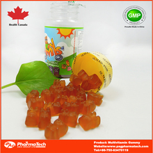 Sugar coated/Sugar free multi shape wholesale gummy vitamins