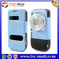 Leather Magnetic Flip Case For Samsung Galaxy S4 Zoom