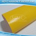 Sino etiqueta do carro 1.52x30m 5ftx98ft removível de pvc texturizado 4d tecido de fibra de carbono preço