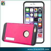 light weight plastic cell phone case for iphone 6 plus