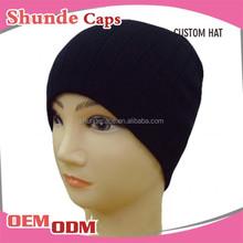 Venta al por mayor hombres sombreros sombreros barato 100 gorro de algodón