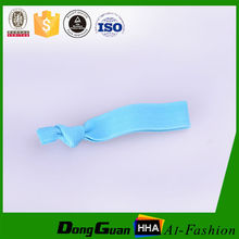 Colored Braided Hair Elastics with factory supply